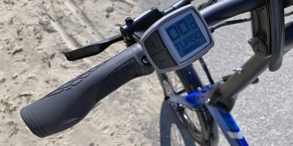 Tern Vektron Q9 Bosch Purion Display Ergonomic Grips