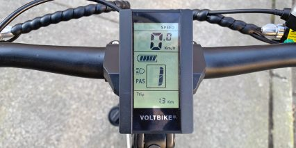 Voltbike Bravo Angled Display Wire Wraps