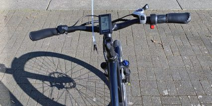 Voltbike Bravo Cockpit View Large Display Throttle With Lockout