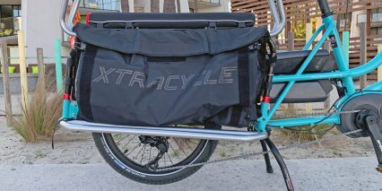 Xtracycle Edgerunner Eswoop Optional Running Boards Pannier Bags