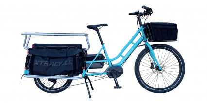 Xtracycle Edgerunner Eswoop Stock Step Through Blue