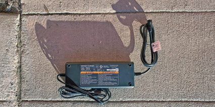 Yamaha Cross Connect 4amp Battery Charger Label