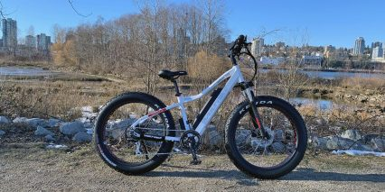 2019 Voltbike Yukon 750 White Without Optional Accessories