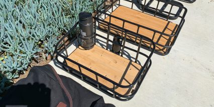 Blix Packa Front Basket With Drink Holder