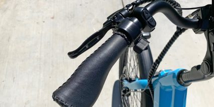 Blix Packa Velo Stitched Ergonomic Grips Faux Leather