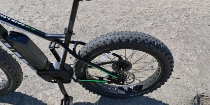 Bulls Monster E S Seat Post Saddle Rear Tire