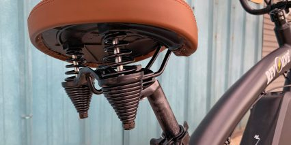 Revolve The Chopper Comfort Saddle With Rear Springs