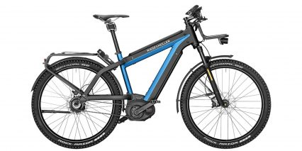 Riese Muller Supercharger Gx Rohloff Hs Stock High Step Black Blue