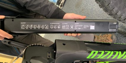 Specialized Turbo Levo Expert Battery Details 36v 19ah