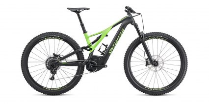 Specialized Turbo Levo Expert Stock High Step Black Green