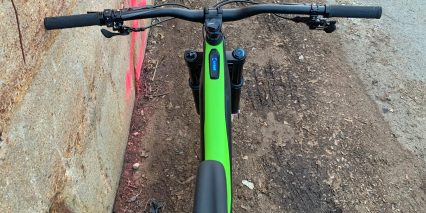 Specialized Turbo Levo Expert Tcu Display Unit In Top Tube Buttons On Left Bar
