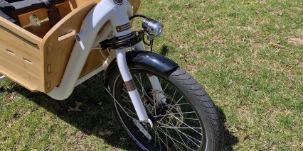 Yuba Supermarche Front Cargo Wheel Fenders Headlight