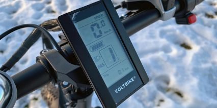 2019 Voltbike Mariner Intellegent Display