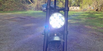 Ariel Rider D Class 12 Led Integrated Headlight