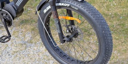 Biktrix Juggernaght Classic Hd Suspension Fork Metal Fenders Fat Tires
