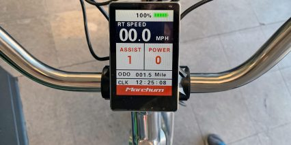 California Bicycle Factory Retro R Color Display