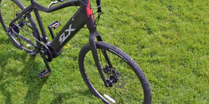 2019 Flx Roadster Rigid Fork 180mm Hydraulic Brakes
