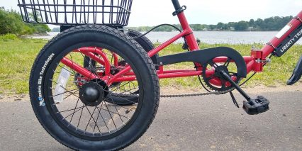 2019 Liberty Trike Electric Tricycle 19 Inch Wheels Chain Guard