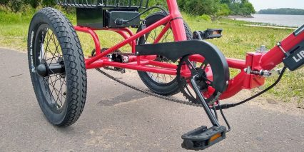 2019 Liberty Trike Electric Tricycle American Style Crank Set Plastic Pedals