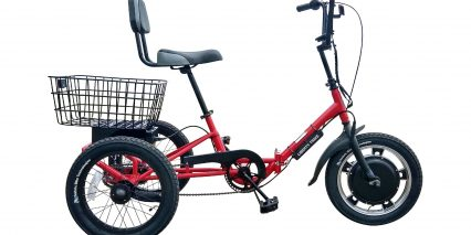 2019 Liberty Trike Electric Tricycle Stock Trike Red