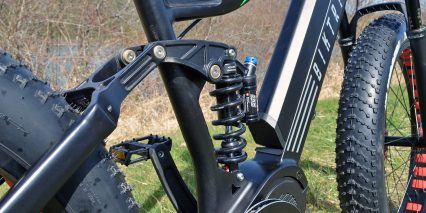 Biktrix Juggernaut Ultra Fs 100mm Travel Rear Suspension