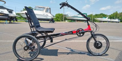Electric Bike Technologies Electric Eco Delta Trike