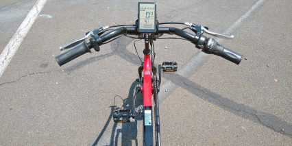 Electric Bike Technologies Electric Eco Delta Trike Cockpit View