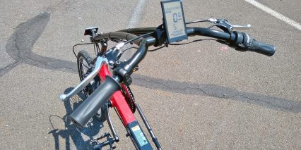 Electric Bike Technologies Electric Eco Delta Trike Display Controls