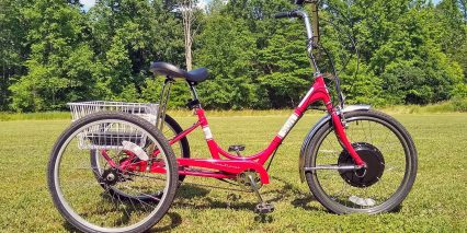 Electric Bike Technologies Electric Sun Traditional Tricycle