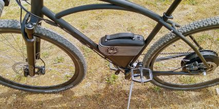 Vintage Electric Rally Removable 48v 10 4ah Battery Pack