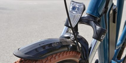 2019 Biktrix Stunner Integrated Headlight Front Fender
