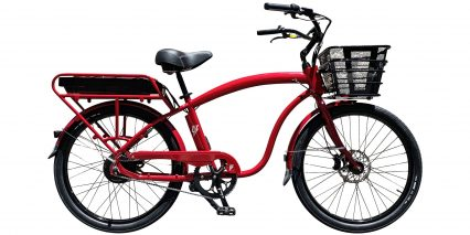 2019 Electric Bike Company Model C Stock High Step Custom Red