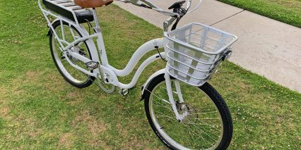 2019 Electric Bike Company Model S Front Basket