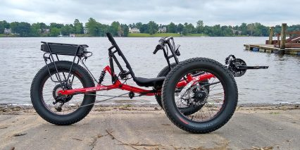 2019 Electric Bike Technologies Electric Fat Tad Trike