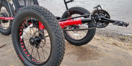 2019 Electric Bike Technologies Electric Fat Tad Trike Fat Tires