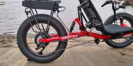 2019 Electric Bike Technologies Electric Fat Tad Trike Sram System