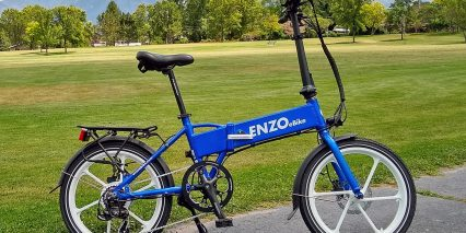 2019 Enzo Ebikes Electric Folding Bike