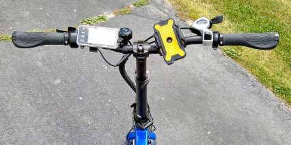 2019 Enzo Ebikes Electric Folding Bike Cockpit View