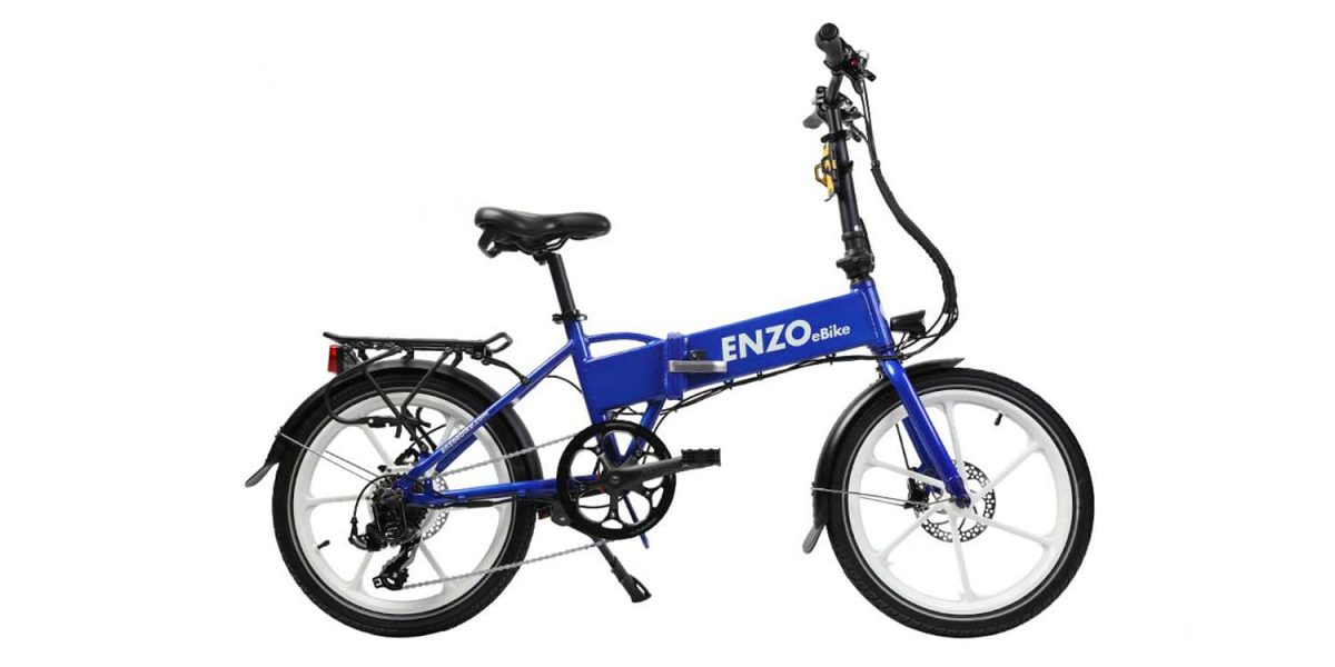 2019 Enzo Ebikes Electric Folding Bike Electric Bike Review