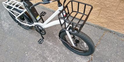Civi Bikes Runabout Front Cargo Basket With Cup Holder