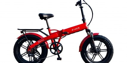 E Lux Sierra Sport Stock Folding Red