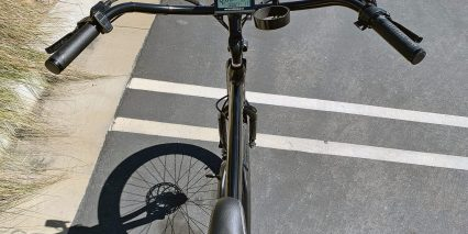 Electric Bike Company Model X Cockpit View