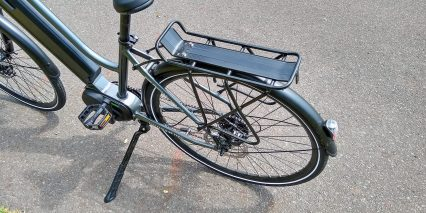 Electric Bike Technologies Electric City Bike Included Bolt On Rack Rear Fender Integrated Light
