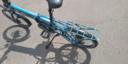 Electric Bike Technologies Electric Folding Bike Rear Rack