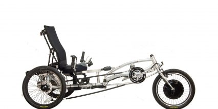 Electric Bike Technologies Ez 3 Hd Electric Trike Stock Silver