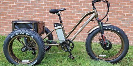 Electric Bike Technologies Fat Tire Trike