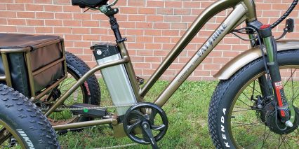 Electric Bike Technologies Fat Tire Trike 48v Battery