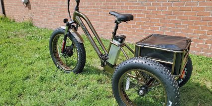 Electric Bike Technologies Fat Tire Trike Rear Rack