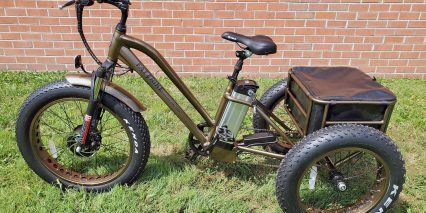 Electric Bike Technologies Fat Tire Trike Step Through