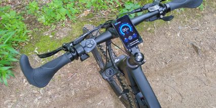 Electric Bike Technologies Electric Mountain Bike Display Controls